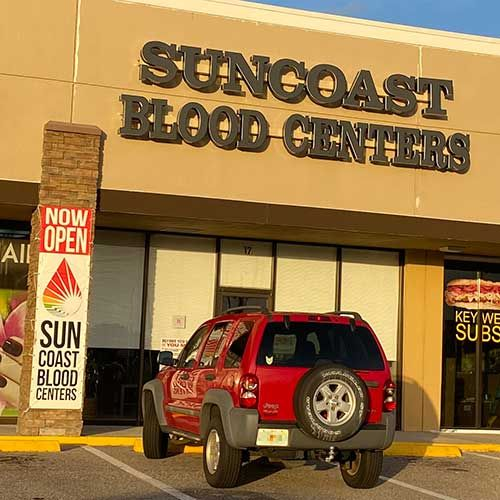 Charlotte Square SunCoast Blood Centers